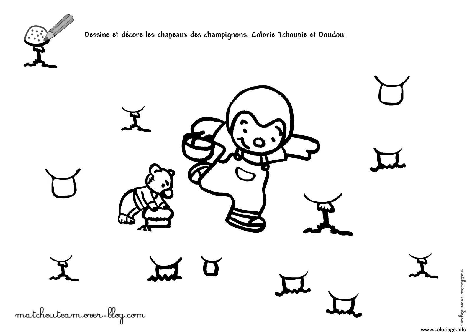 Coloriage Tchoupi 88 Dessin pour Coloriage De Tchoupi Et Doudou