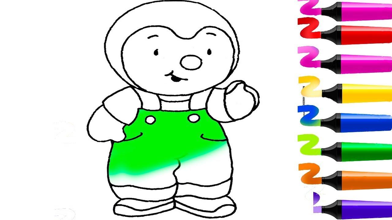 Coloriage Tchoupi Et Ses Amis | T'choupi A L'école tout Coloriage De Tchoupi Et Doudou