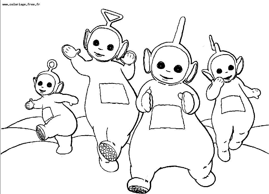 Coloriage Teletubbies - Coloriages Pour Enfants dedans Coloriage Aspirateur
