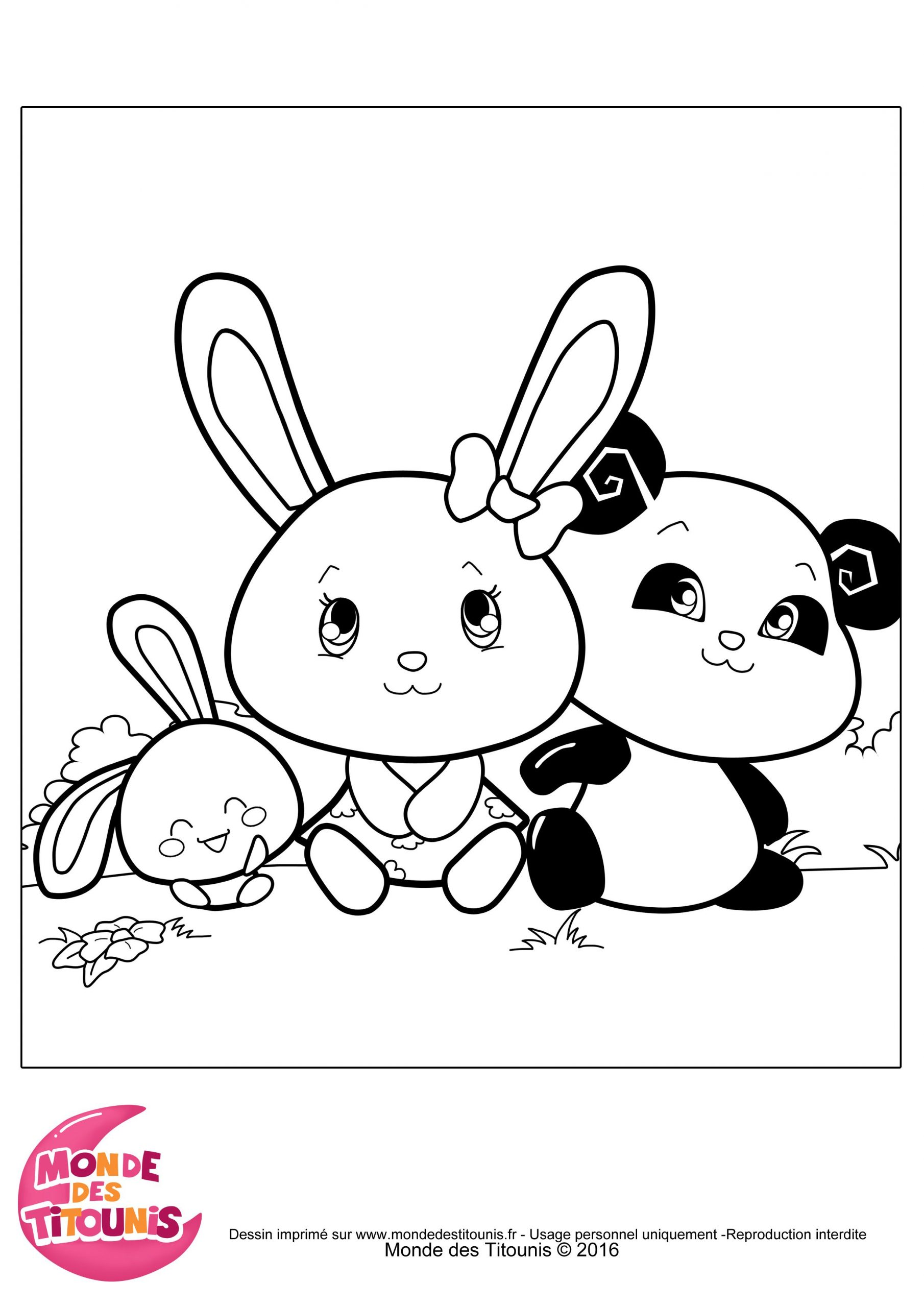Coloriage-Titounis-Panda-Touni (2480×3508) | Coloriage avec Livre De Coloriage À Imprimer