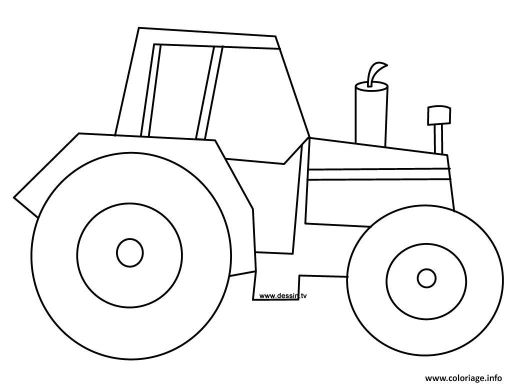 Coloriage Tracteur Tom À Imprimer - PrimaNYC.com