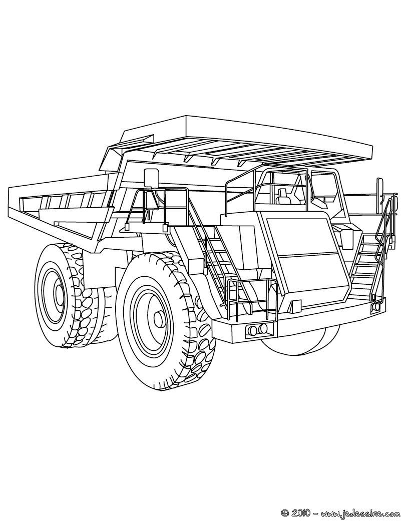 Coloriage Tracteur Avec Remorque tout Dessin De Tracteur À Colorier