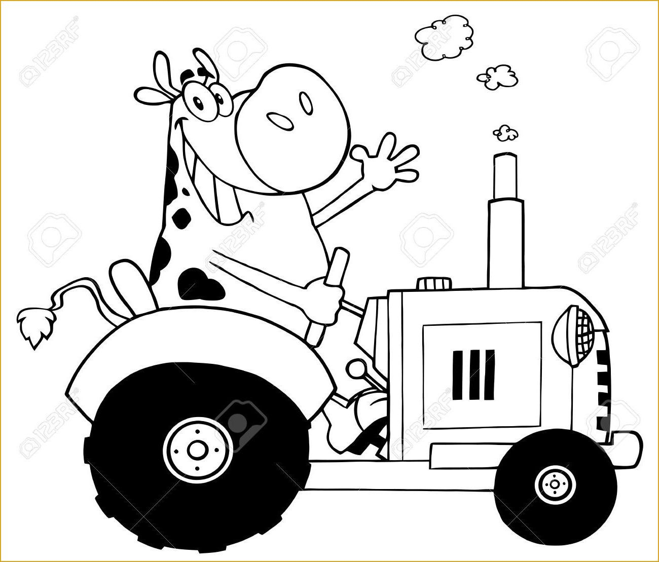 Coloriage Tracteur New Holland Facile Coloriage Tracteur New intérieur Sam Le Tracteur Dessin Anime