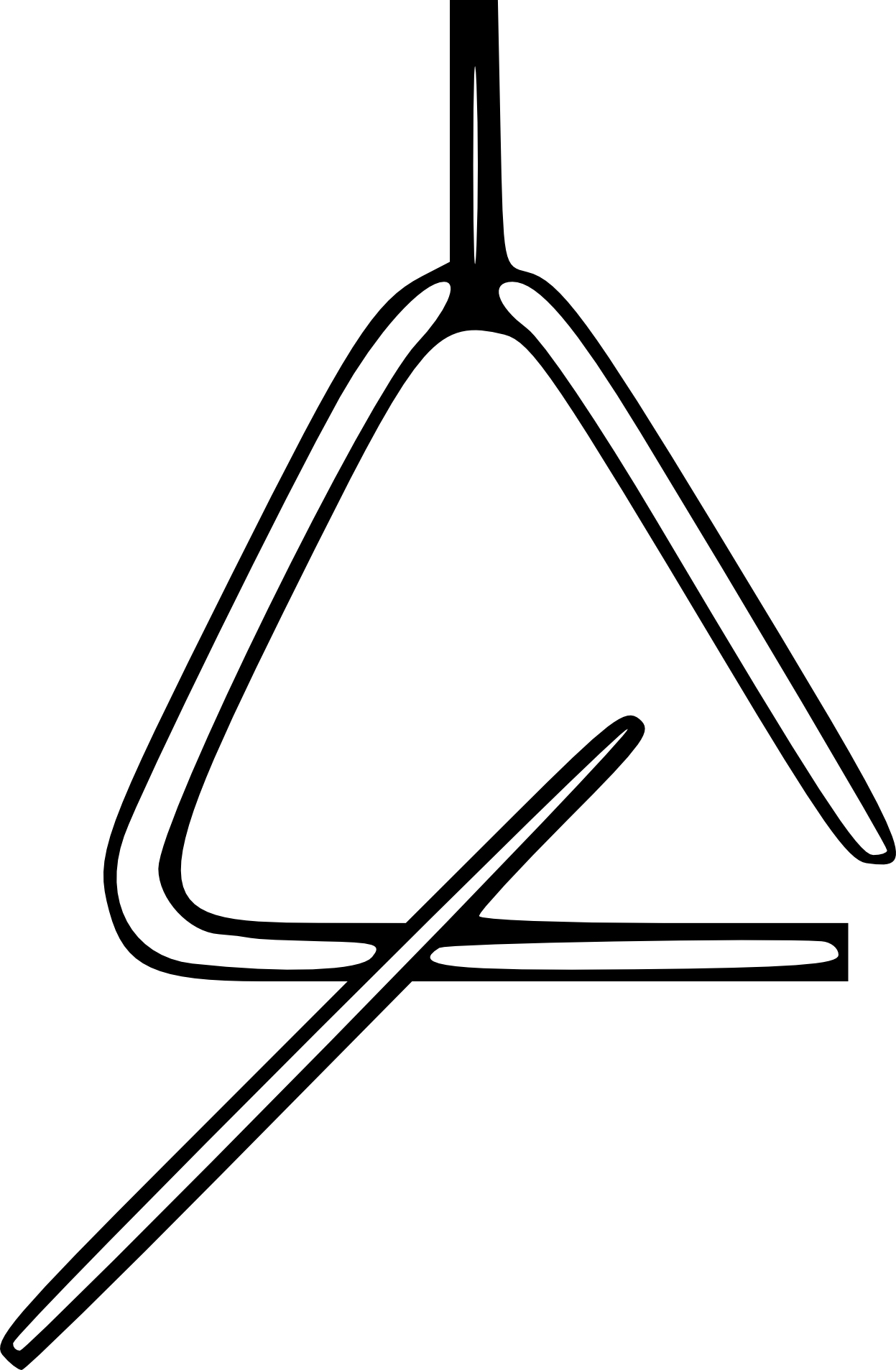 Coloriage Triangle De Musique À Imprimer dedans Image Instrument De Musique À Imprimer
