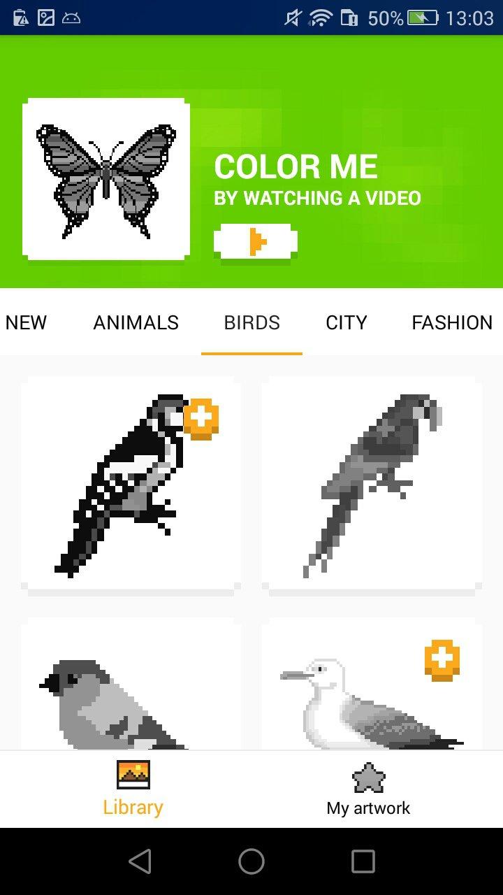 Coloriage Unicorn : Jeux Pixel 2.1.4.0 - Télécharger Pour intérieur Jeux De Dessin Pixel Art Gratuit