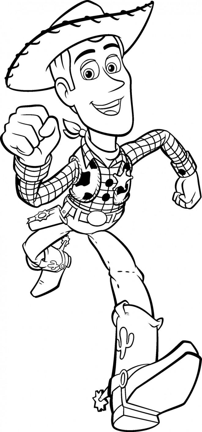Coloriage Woody Dessin Animé Dessin Gratuit À Imprimer tout Coloriage Mr Patate