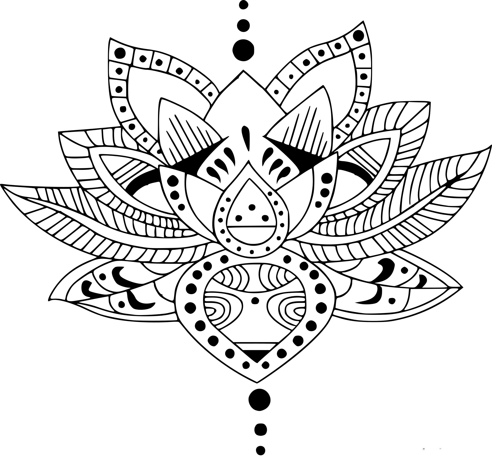 Coloriage Zen À Imprimer Sur Coloriages tout Image Zen A Imprimer