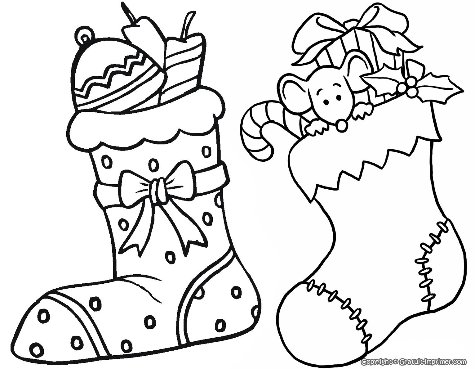 Coloriage204: Coloriage A Imprimer De Noel concernant Coloriage De Père Noel Gratuit A Imprimer