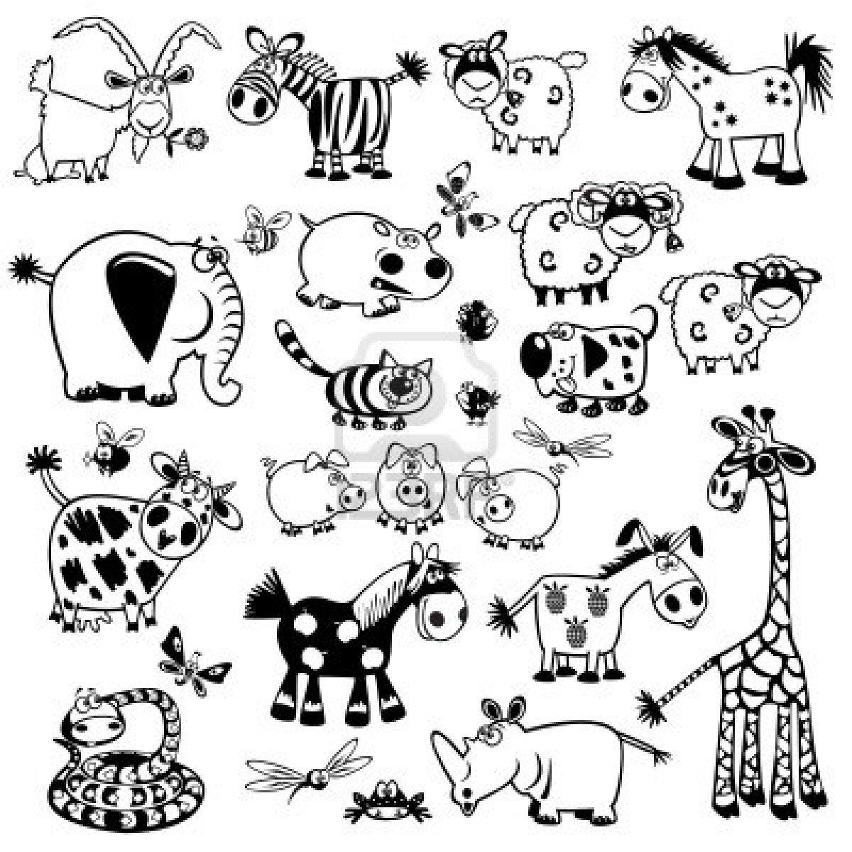Coloriages À Imprimer : Animaux, Numéro : 180700 serapportantà Animaux A Dessiner Imprimer