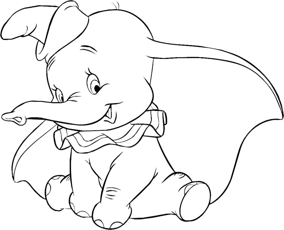 Coloriages À Imprimer : Dumbo, Numéro : 676750 concernant Dessin Dumbo