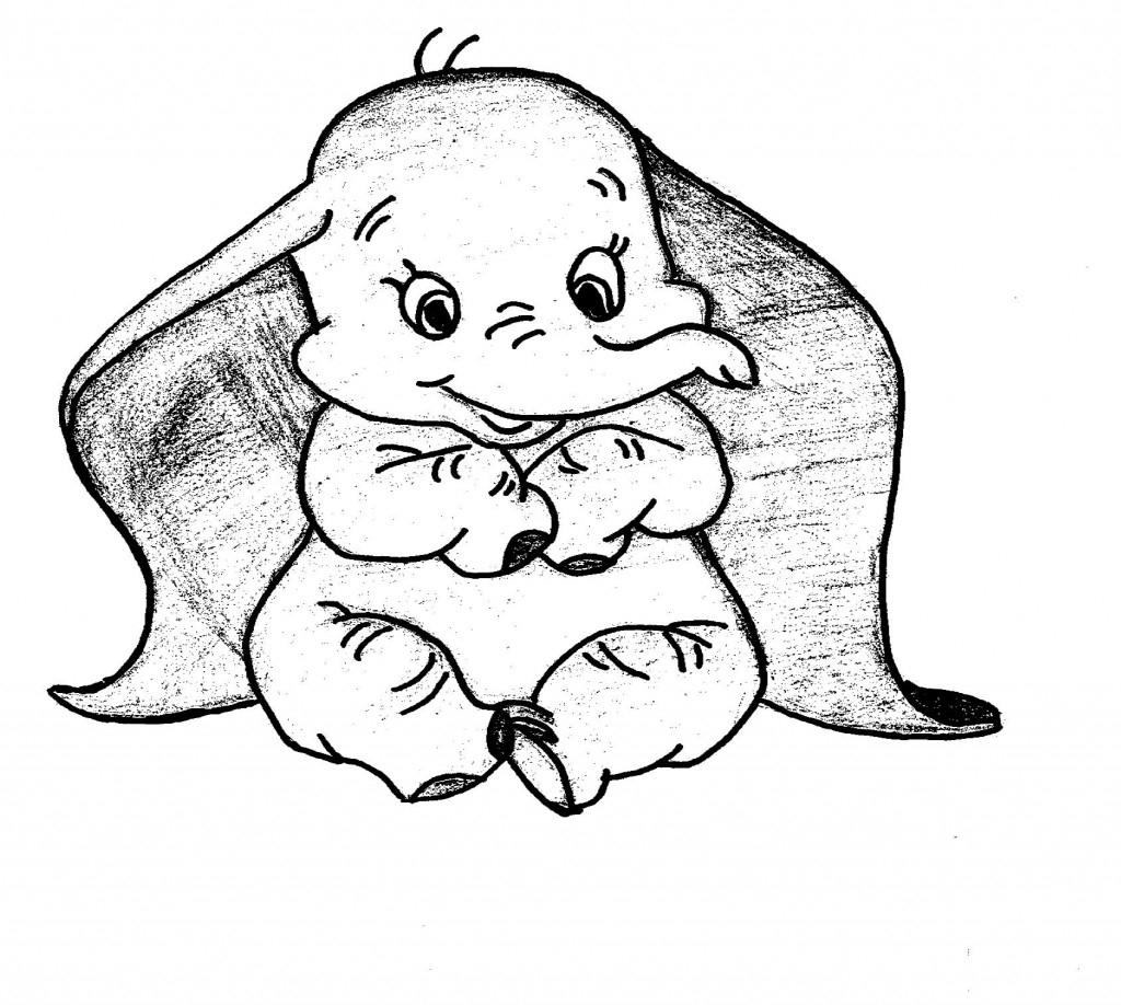 Coloriages À Imprimer : Dumbo, Numéro : 759962 concernant Dessin Dumbo