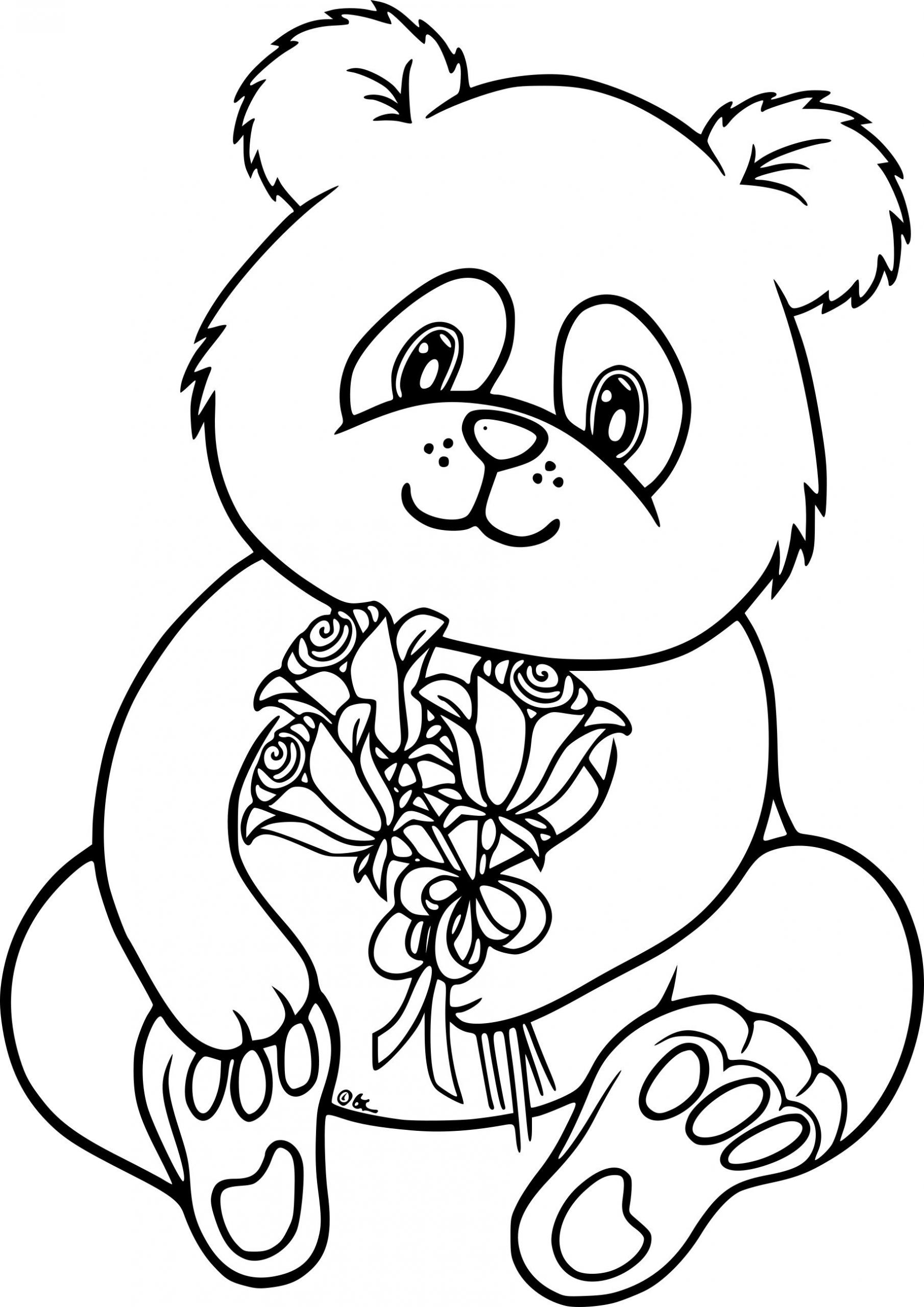 Coloriages À Imprimer : Panda, Numéro : D5346E5A encequiconcerne Panda À Colorier