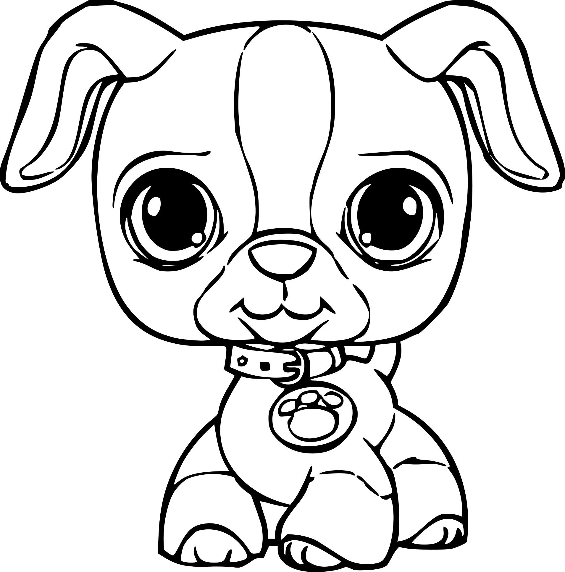 Coloriages À Imprimer : Petshop, Numéro : Dd32461E pour Dessin De Petshop
