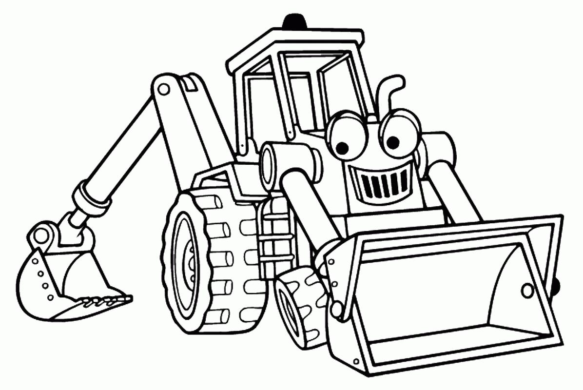 Coloriages À Imprimer : Tracteur, Numéro : 3Fcc3Baa intérieur Dessin De Tracteur À Colorier