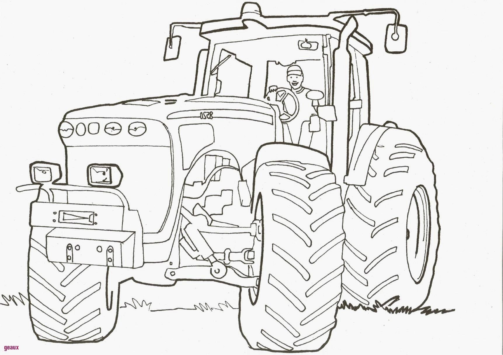 Coloriages À Imprimer : Tracteur, Numéro : D33B98E6 intérieur Dessin De Tracteur À Colorier