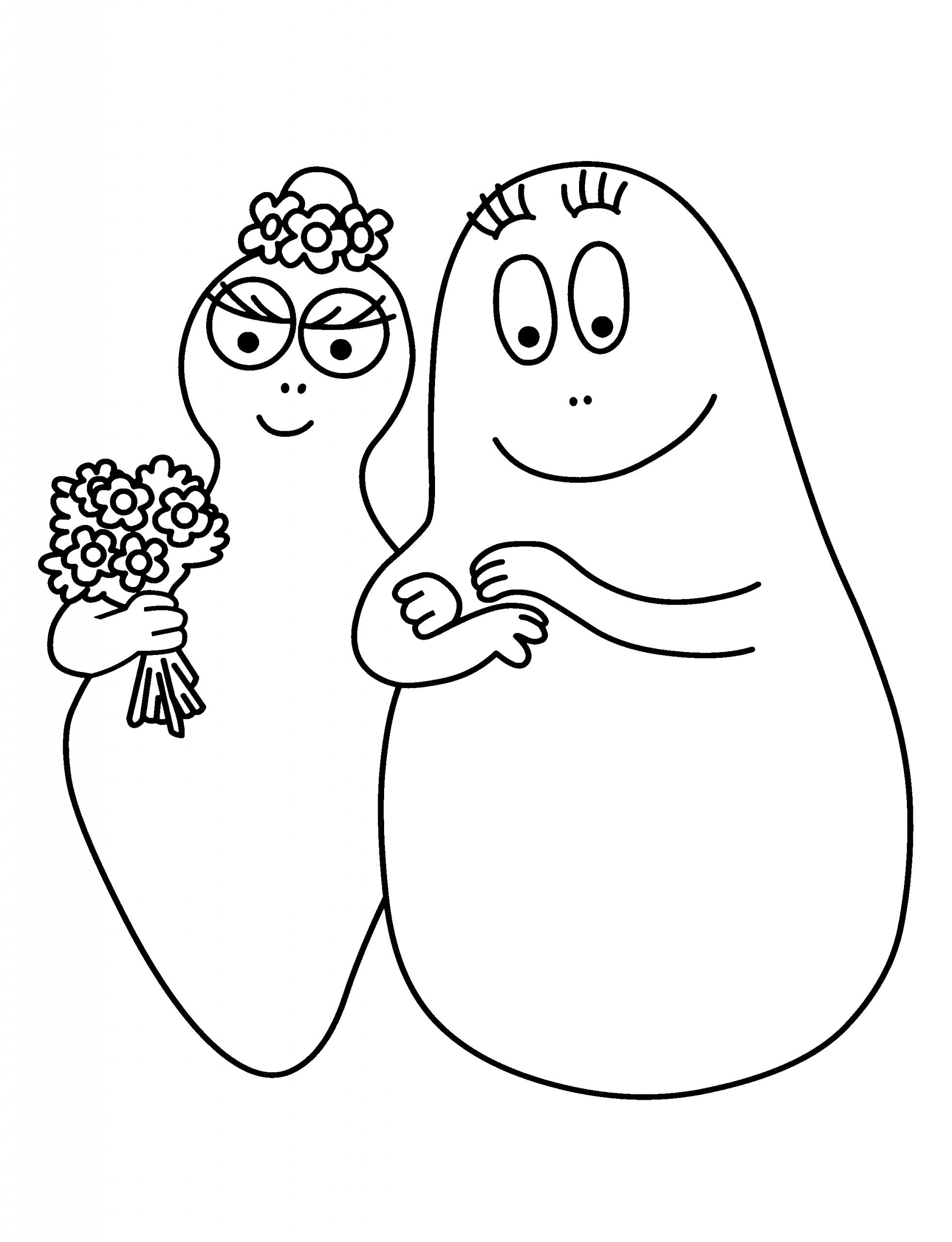 Coloriages Barbapapas - Coloriages Pour Enfants dedans Coloriage Barbapapa À Imprimer Gratuit