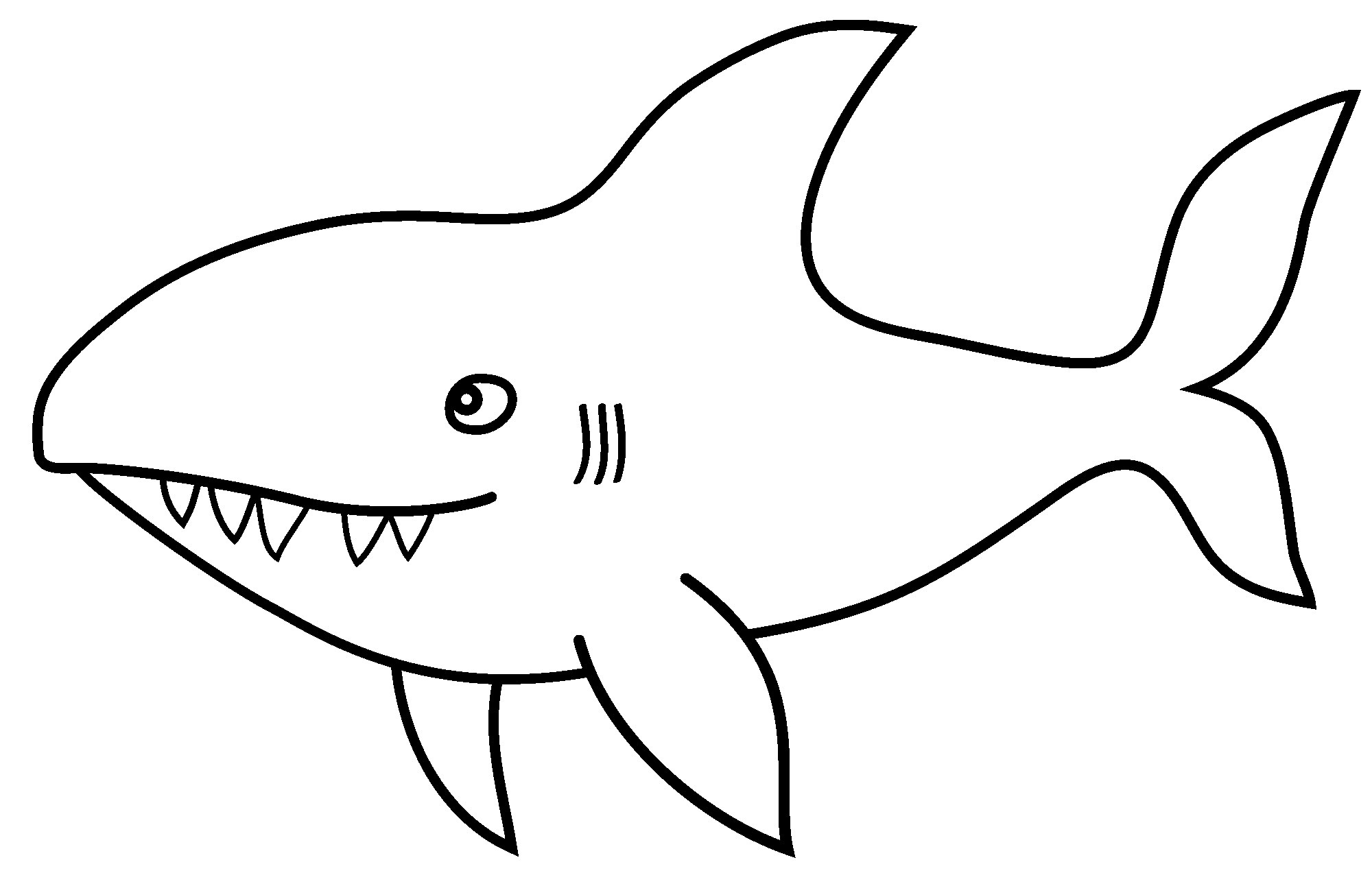 Coloriages De Requins À Imprimer - Coloriage À Imprimer serapportantà Coloriage Requin À Imprimer