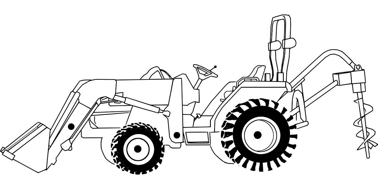 Coloriages De Tracteurs À Imprimer - Coloriage À Imprimer tout Dessin De Tracteur À Colorier