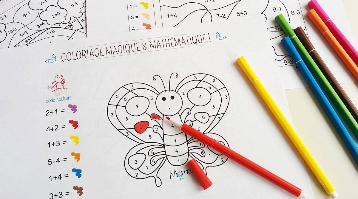 Coloriages Magiques À Imprimer - Coloriages - Momes tout Coloriage Numero A Imprimer
