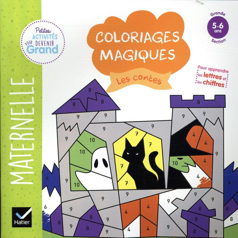 Coloriages Magiques Les Contes - Maternelle - Florence à Coloriage Magique Petite Section
