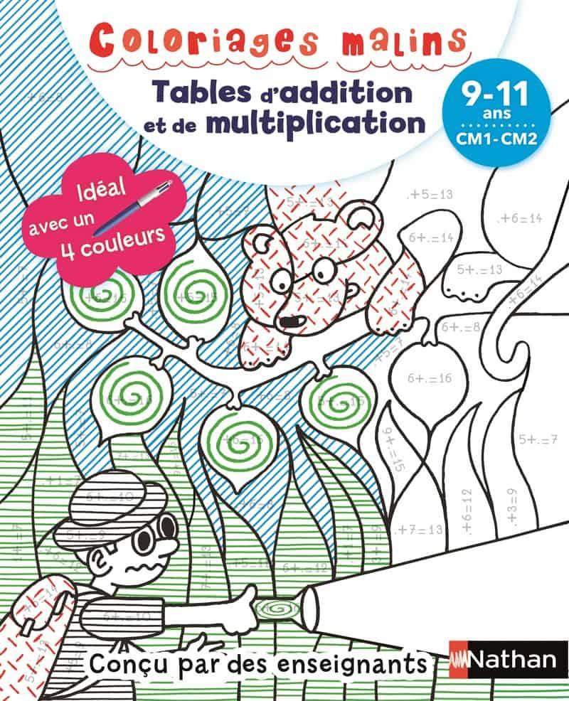 Coloriages Malins Bic - Tables D'addition Et De avec Coloriage Magique 4 Ans