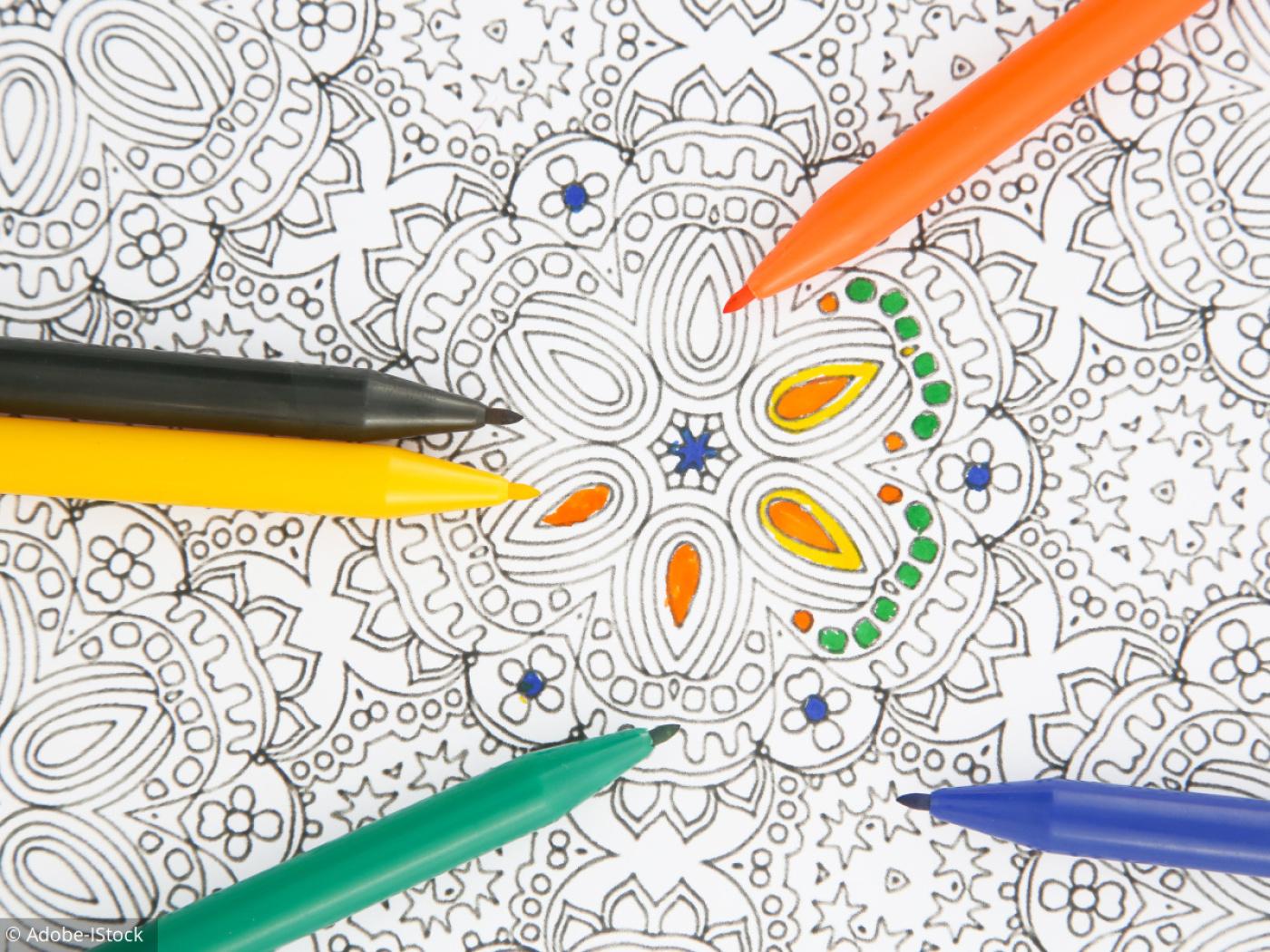 Coloriages Mandalas destiné Jeux De Coloriage De Rosace