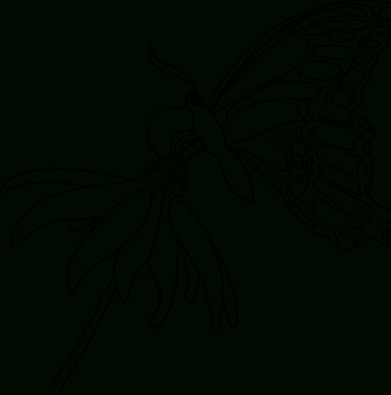 Coloriages Papillons À Imprimer. -Dessins De Papillons À pour Dessin A Imprimer Papillon Gratuit