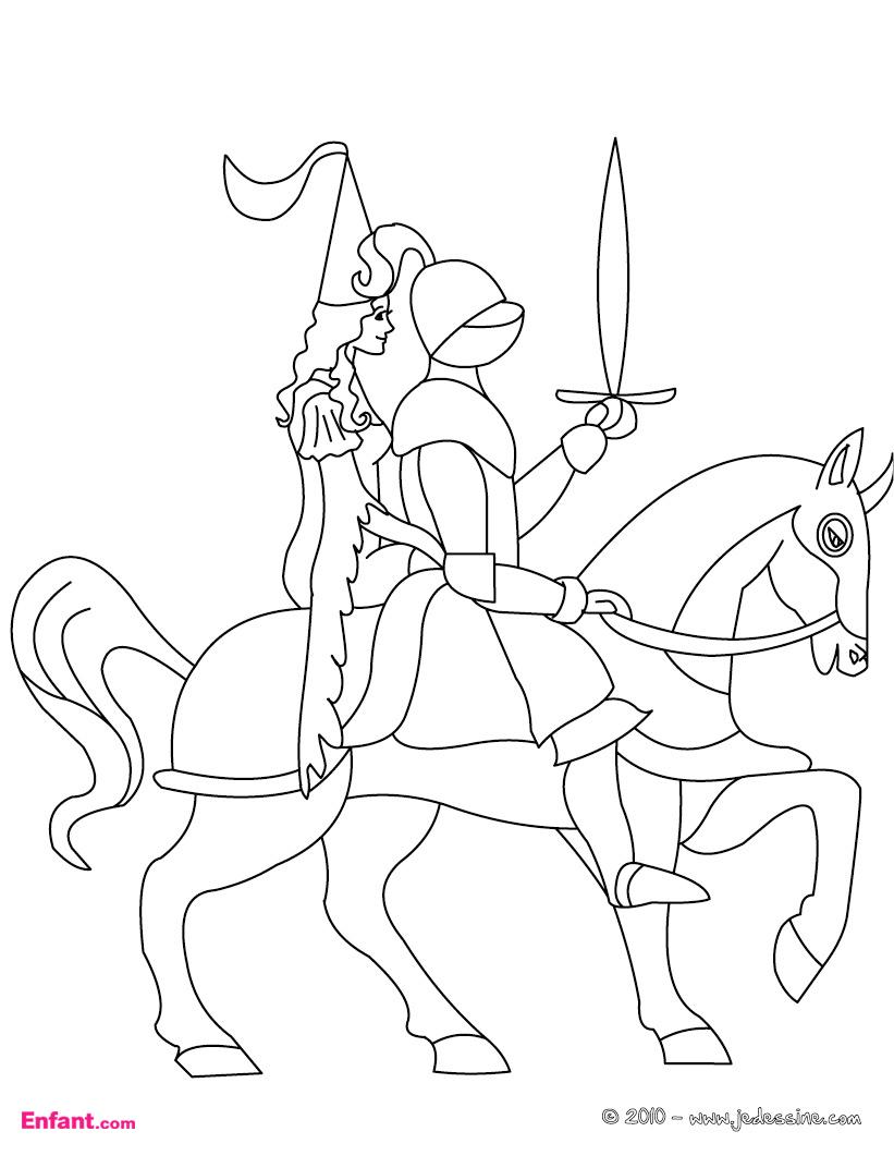 Coloriages Pour Garçon: Le Chevalier À L'épée encequiconcerne Coloriage D Épée