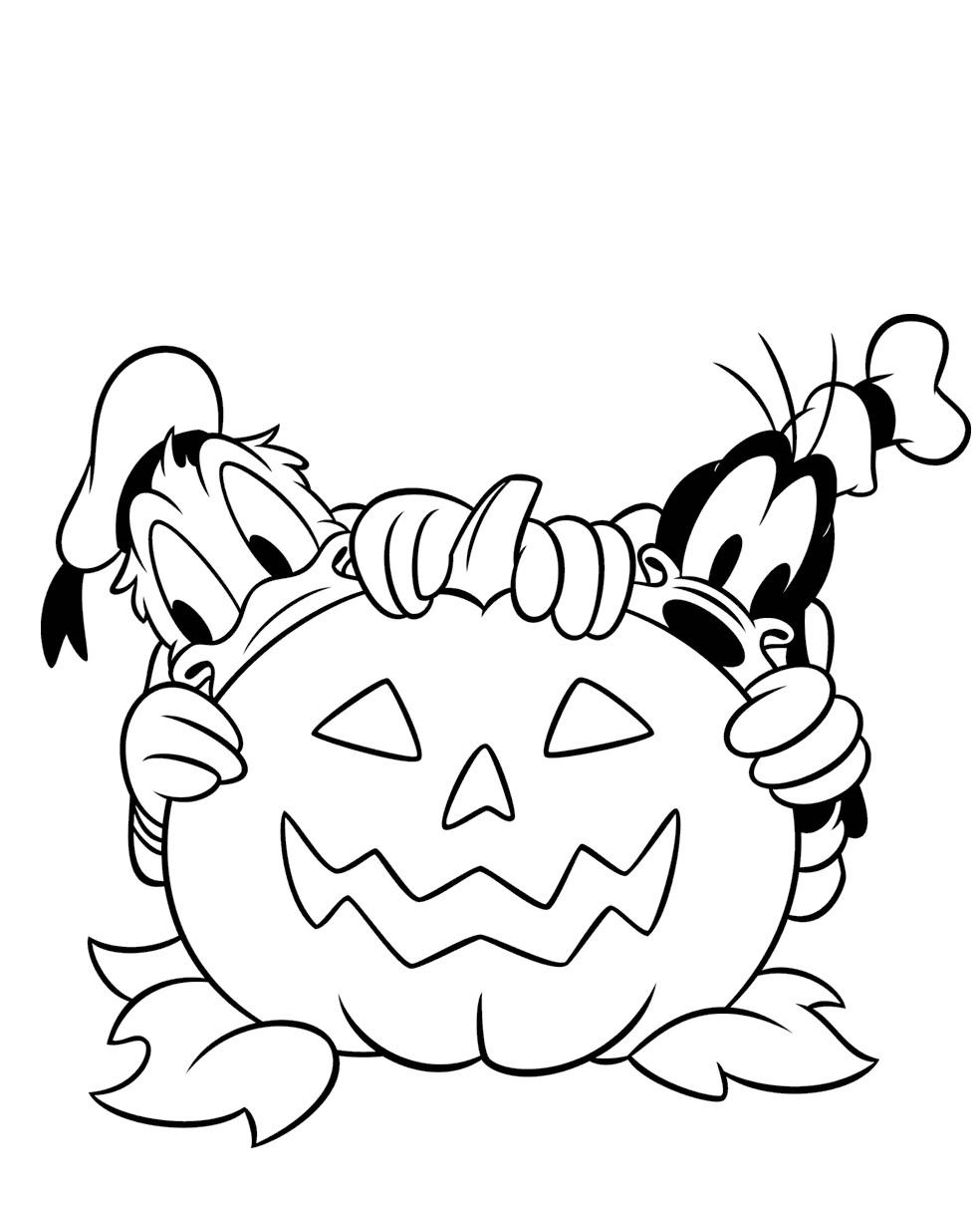 Coloriages Pour Halloween - Disney Magic tout Dessin Walt Disney À Imprimer