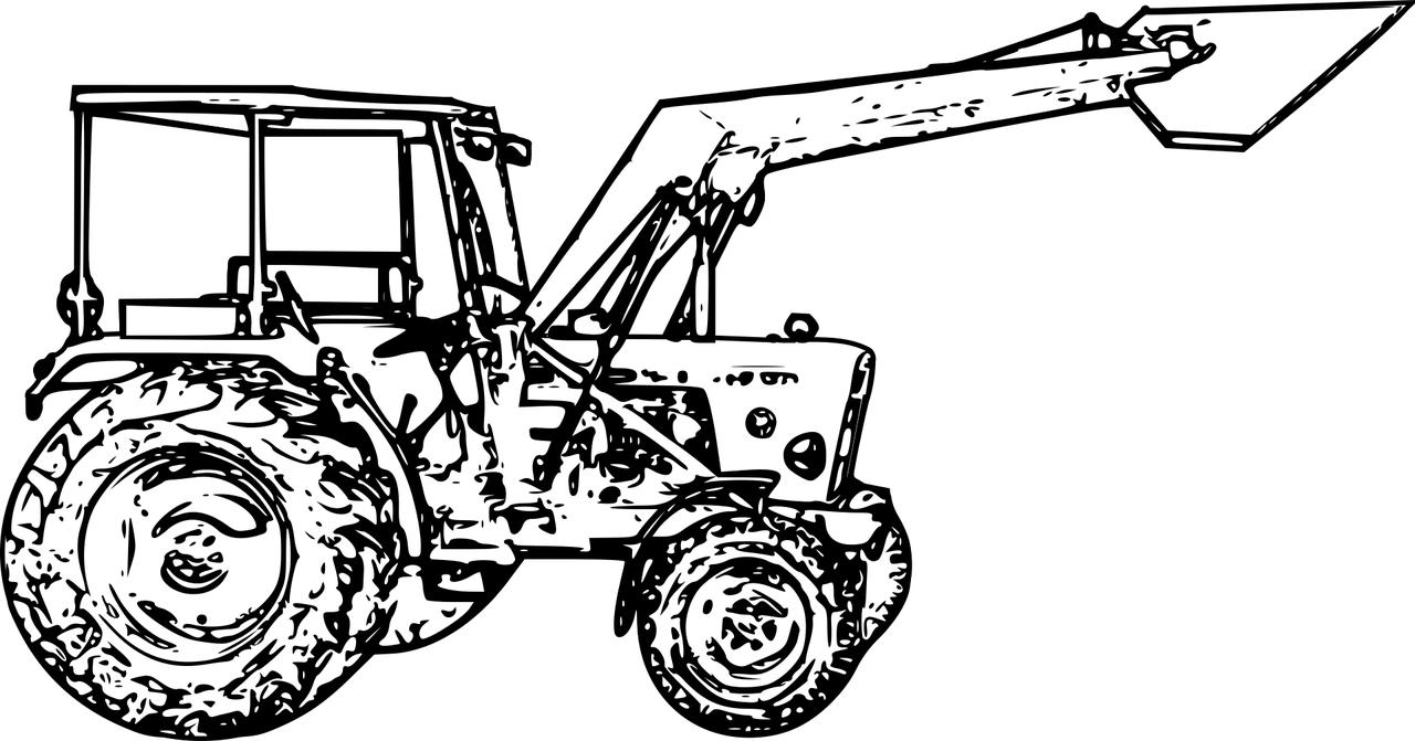 Coloriages Tracteur À Imprimer En Tribu pour Dessin De Tracteur À Colorier