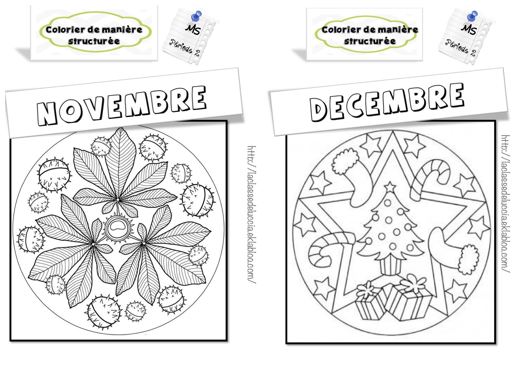 Colorier De Manière Structurée Ms - La Classe De Luccia ! concernant Coloriage Codé Moyenne Section