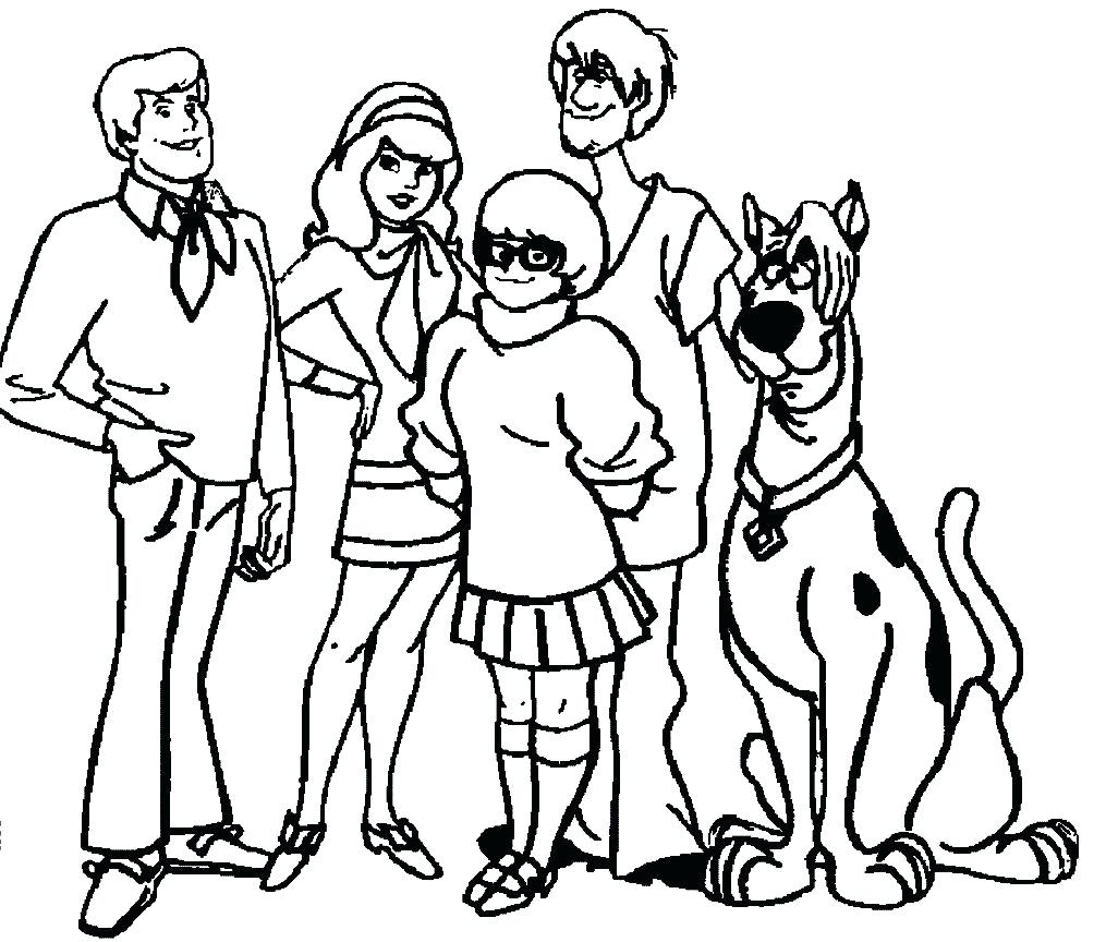 Coloring Pages : 47 Excelent Scooby Doo Coloring Pages Image dedans Scooby Doo À Colorier