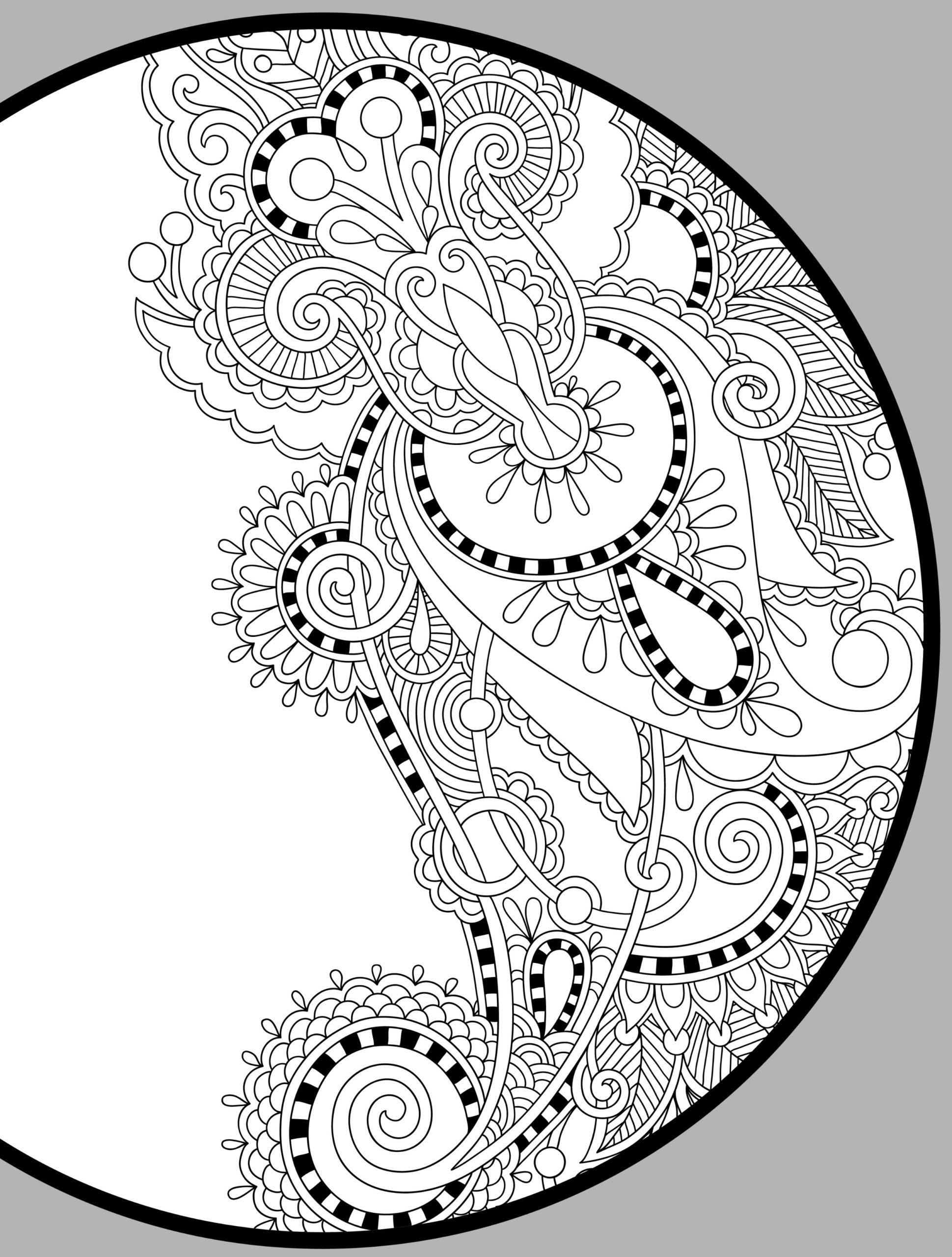 Coloring Pages : Best Coloring Free Printable Books Pdf For intérieur Mandala Fée