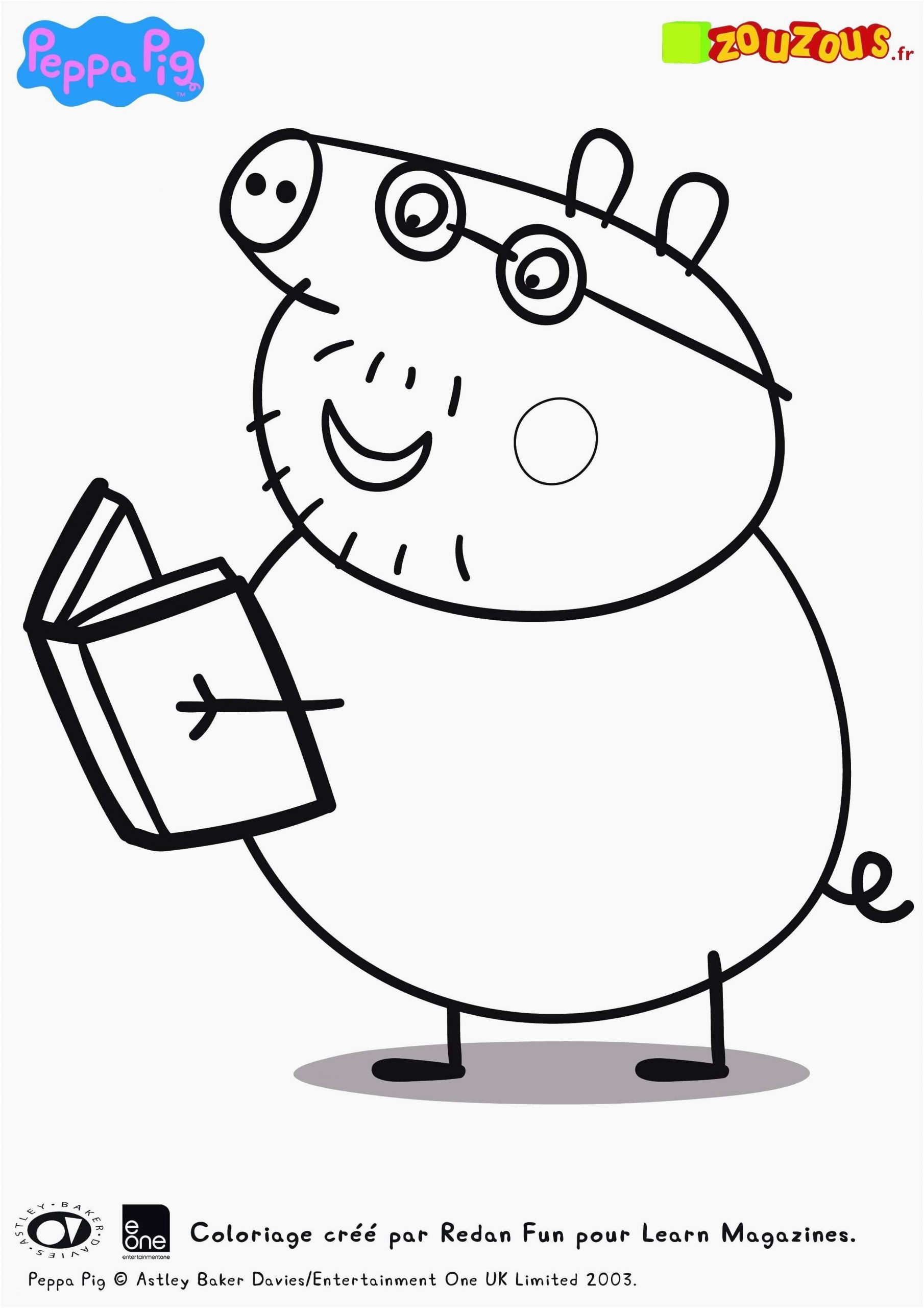 Coloring Pages : Coloring Peppa Pig Book Free Best Pepa New destiné Peppa Pig A Colorier