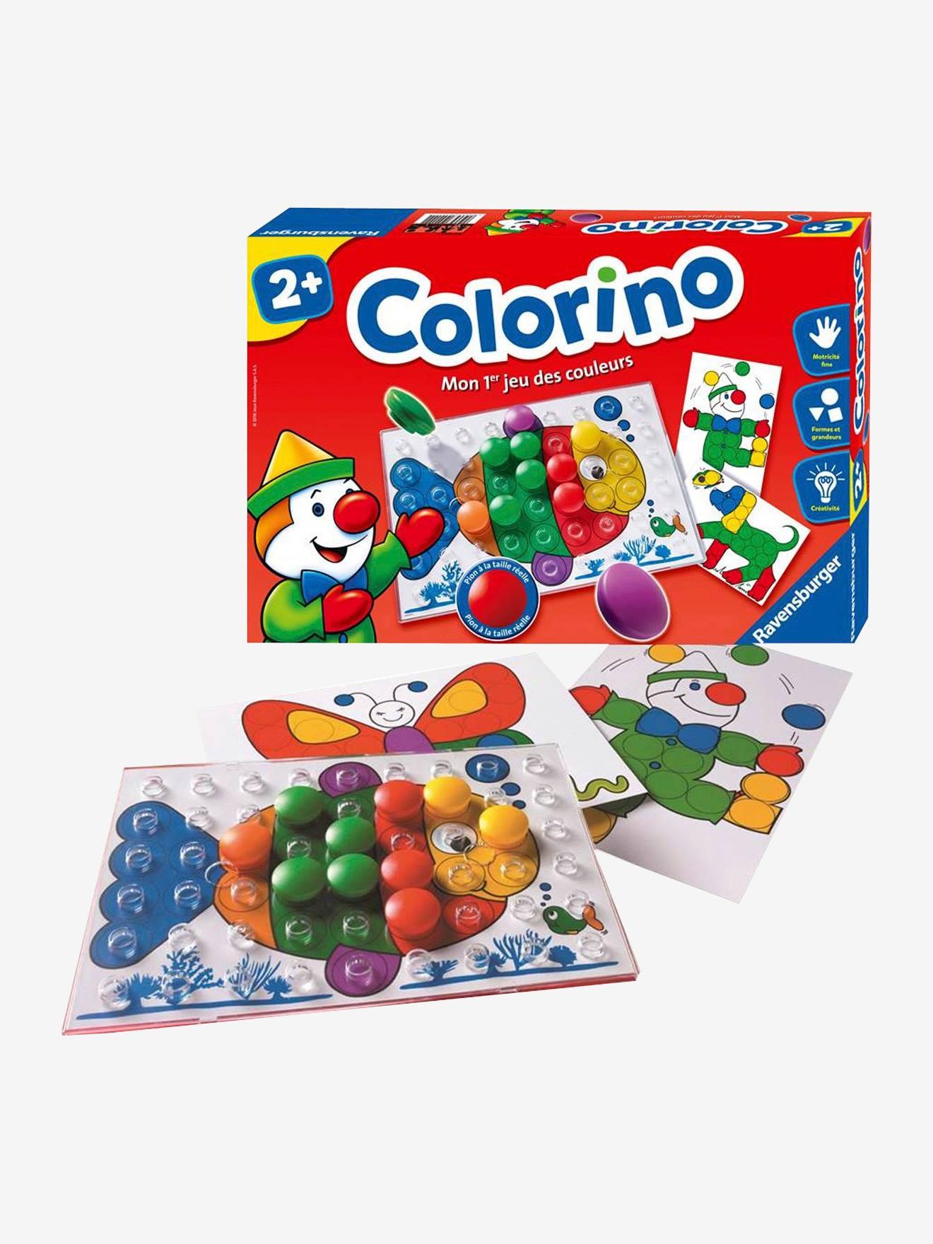 Colorino Panneau À Boutons - Ravensburger destiné Jeux Educatif Maternelle Moyenne Section