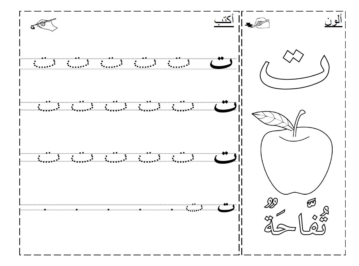 Comment Apprendre Les Lettres ? | Alphabet Arabe, Coloriage intérieur Apprendre A Ecrire L Alphabet