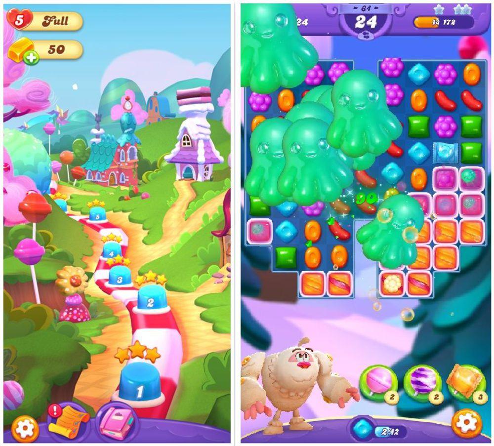 Comment Candy Crush Anesthésie Nos Cerveaux - L'express pour Jeux Video Enfant 5 Ans