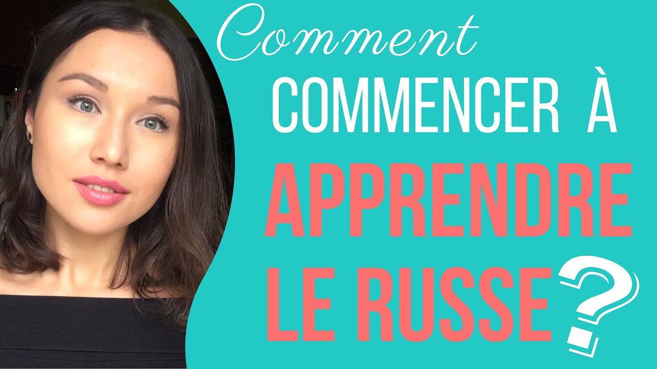 Comment Commencer À Apprendre Le Russe? serapportantà Apprendre Le Russe Facilement Gratuitement