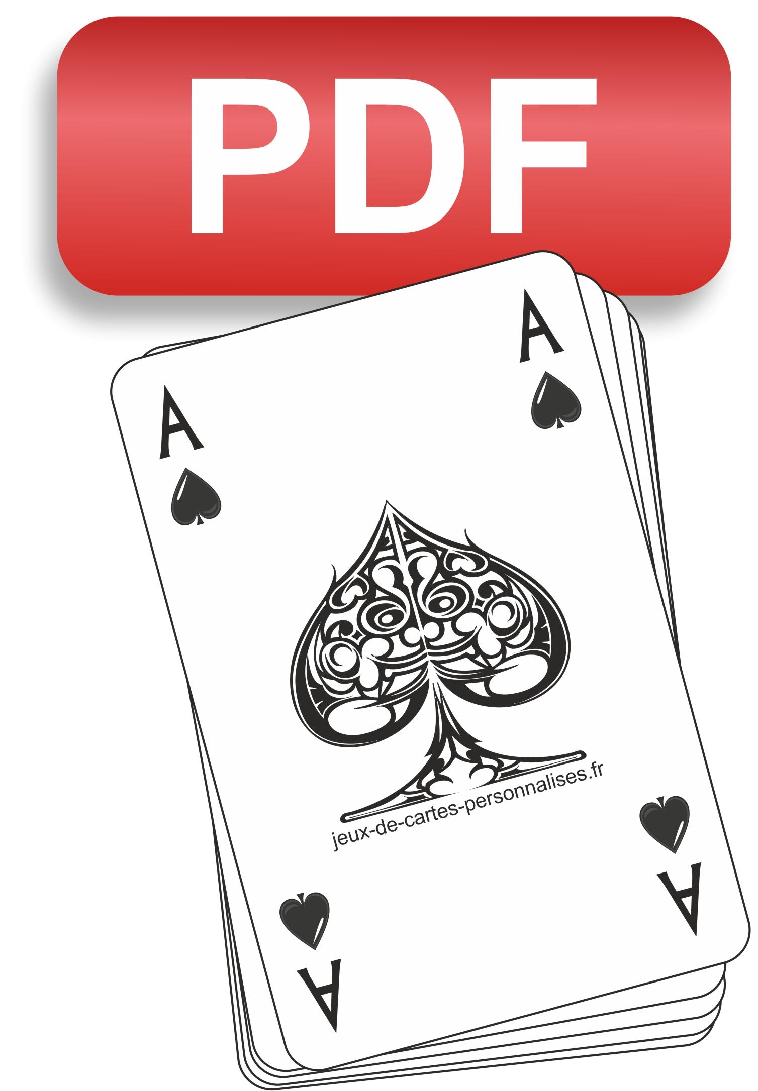 Comment Créer Et Éditer Un Jeu De Cartes ? - Jeux De Cartes intérieur Petite Carte De France A Imprimer