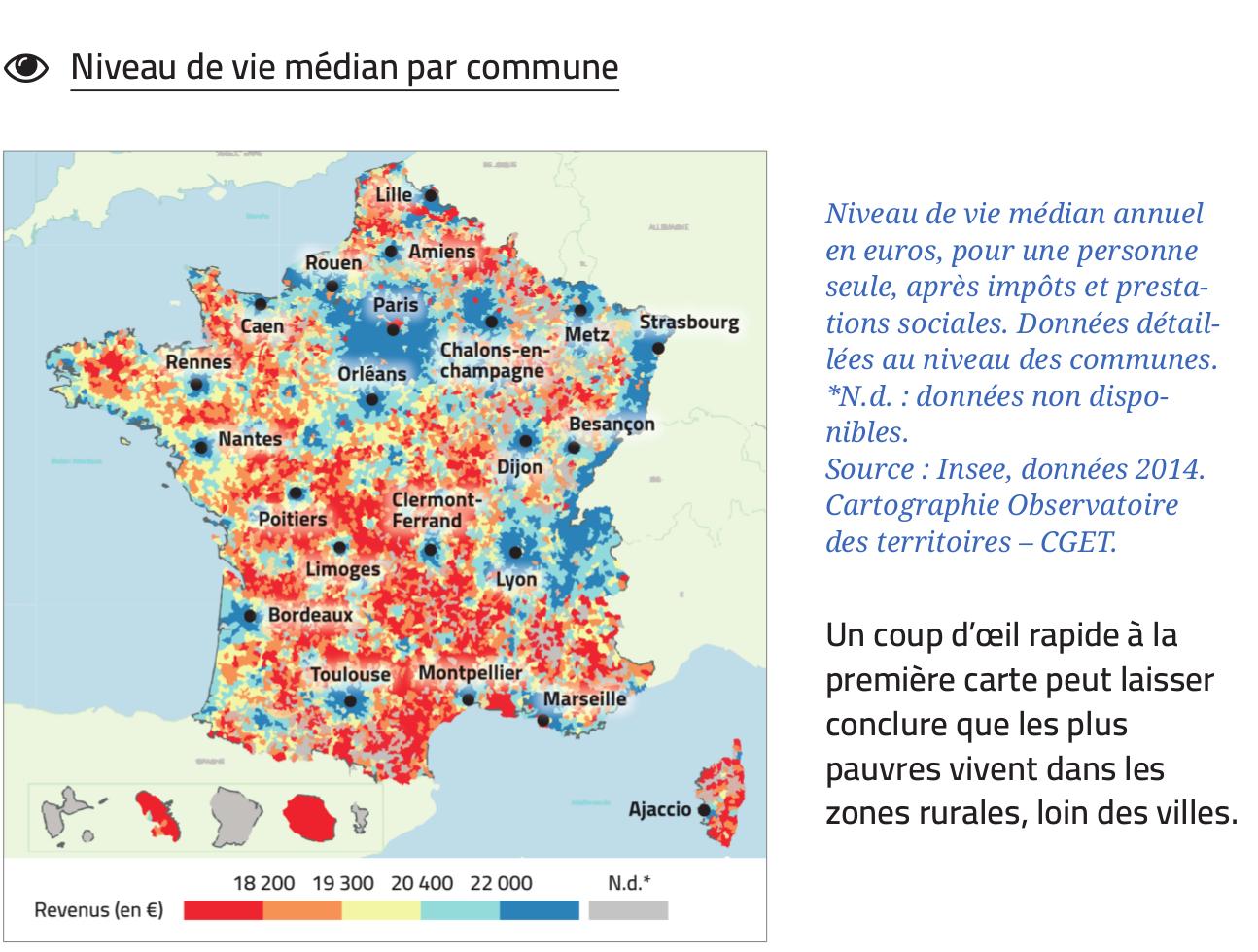 Comment Définir Le Territoire Des Inégalités ? pour Carte Geographique Du France