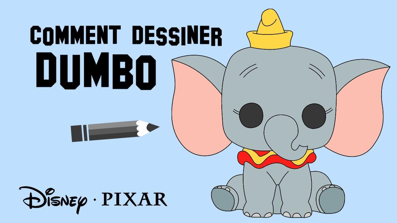 Comment Dessiner Dumbo | Dumbo, Dessin, Chibi à Dessin Dumbo
