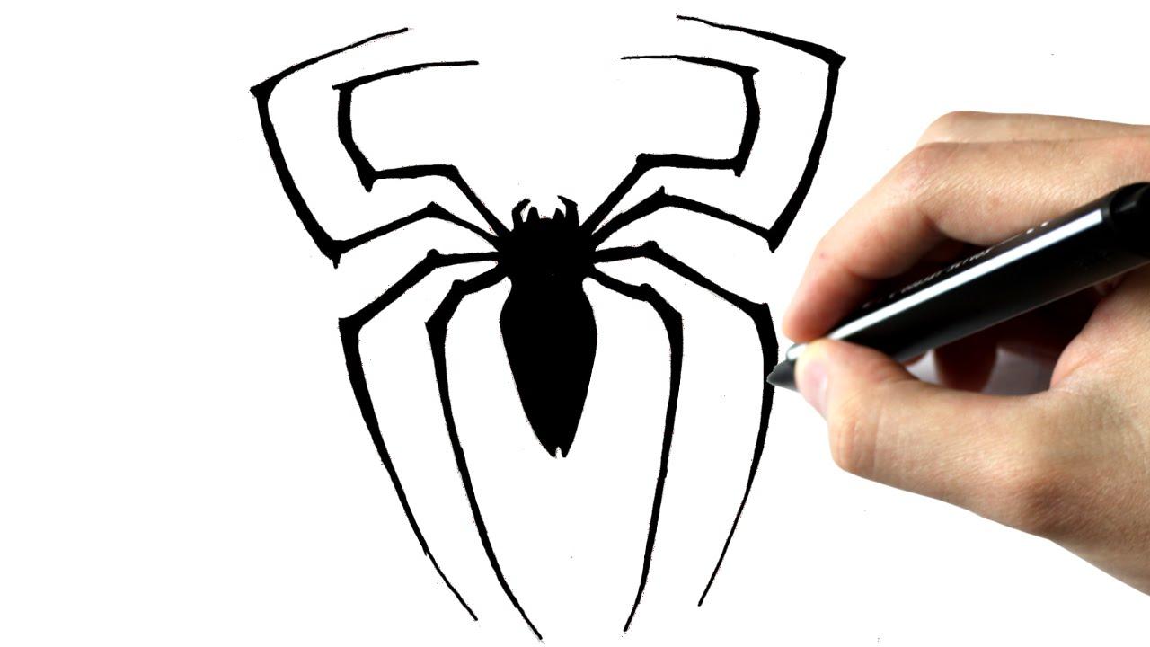 Comment Dessiner L'araignée De Spiderman dedans Dessiner Une Araignee