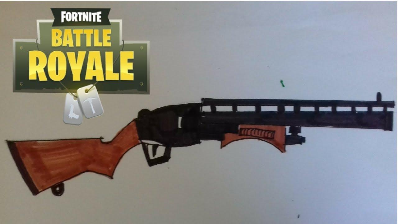 Comment Dessiner Le Fusil A Pompe Spécialiste Fortnite encequiconcerne Comment Dessiner Un Fusil