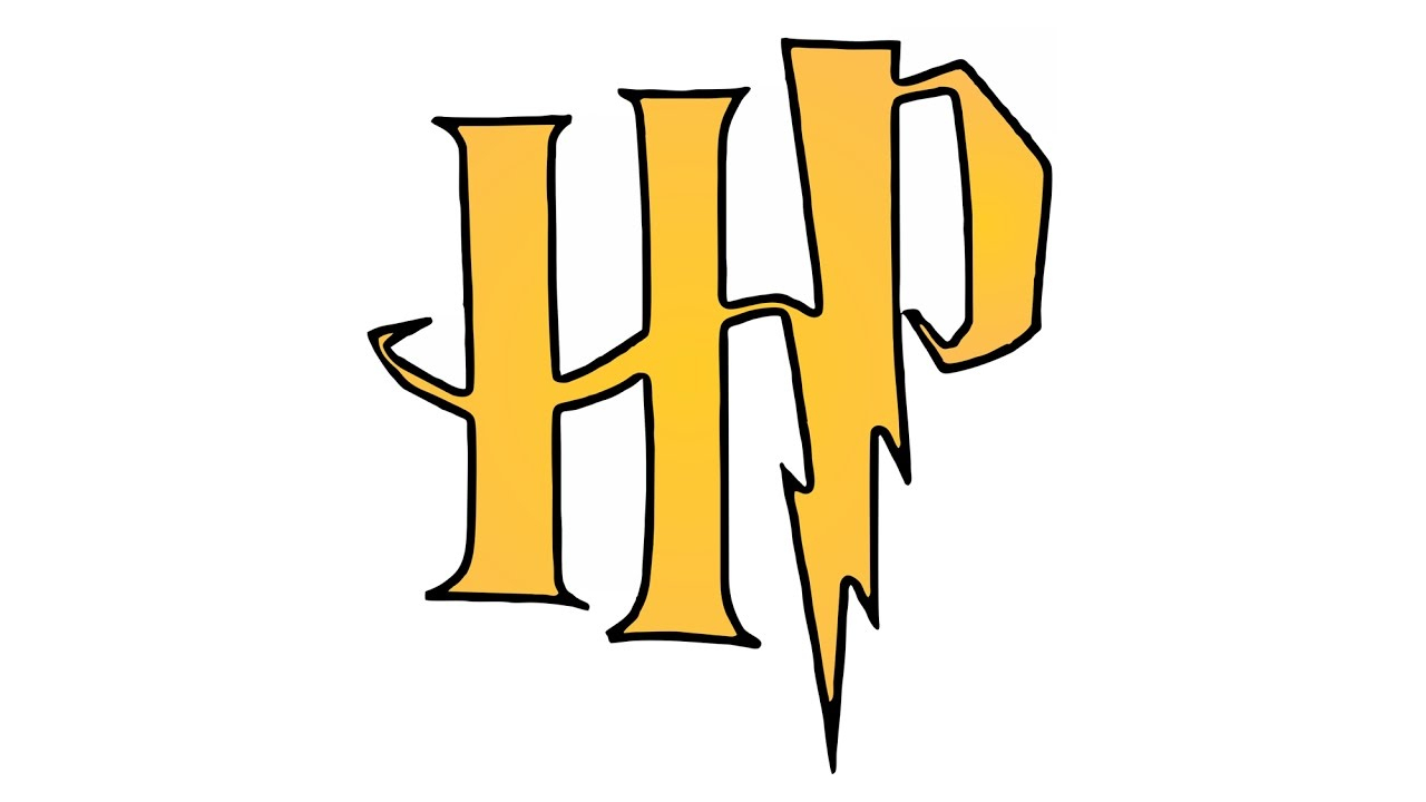 Comment Dessiner Le Logo De Harry Potter (Symbole) à Dessin D Harry Potter