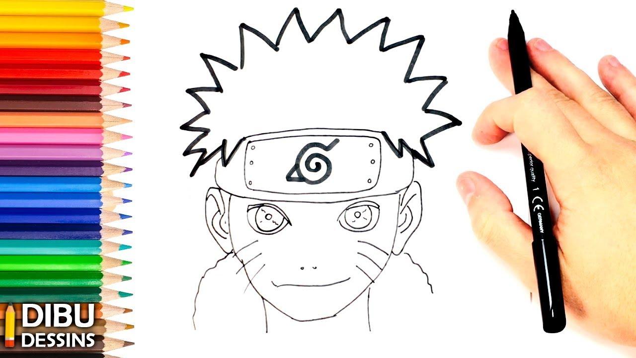 Comment Dessiner Naruto | Dessin De Naruto concernant Modèles De Dessins À Reproduire