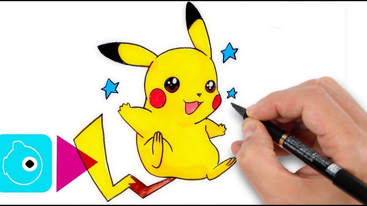 Comment Dessiner Pikachu #1 - Apprendre À Dessiner – Dessin Facile Étape  Par Étape destiné Dessin De Pikachu Facile