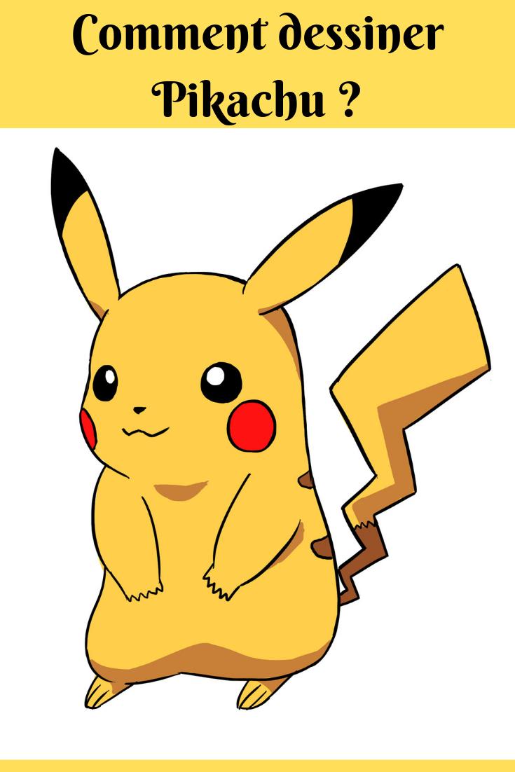 Comment Dessiner Pikachu | Dessin Pikachu, Comment Dessiner à Dessin De Pikachu Facile