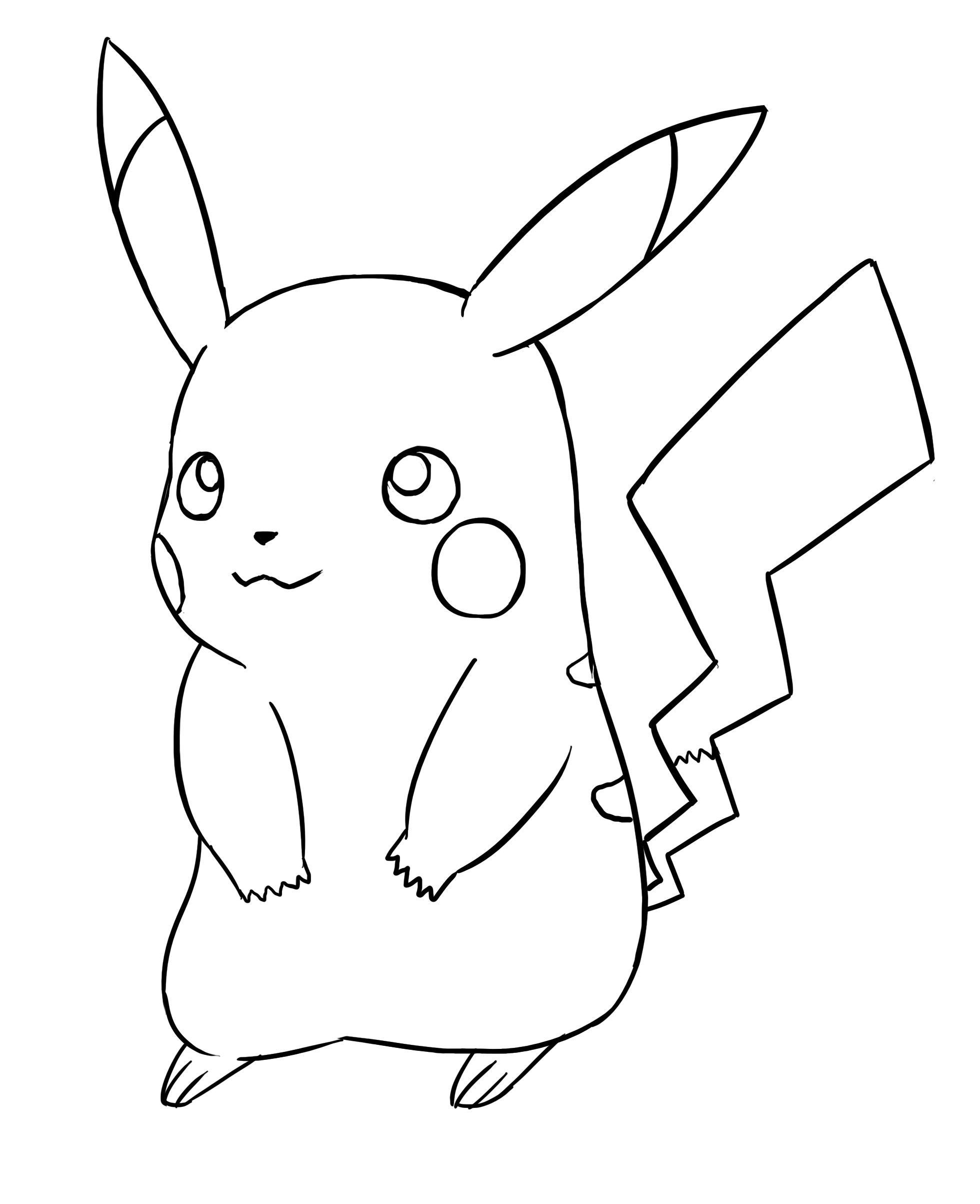 Comment Dessiner Pikachu | Dessin Pikachu, Comment Dessiner serapportantà Dessin De Pikachu Facile