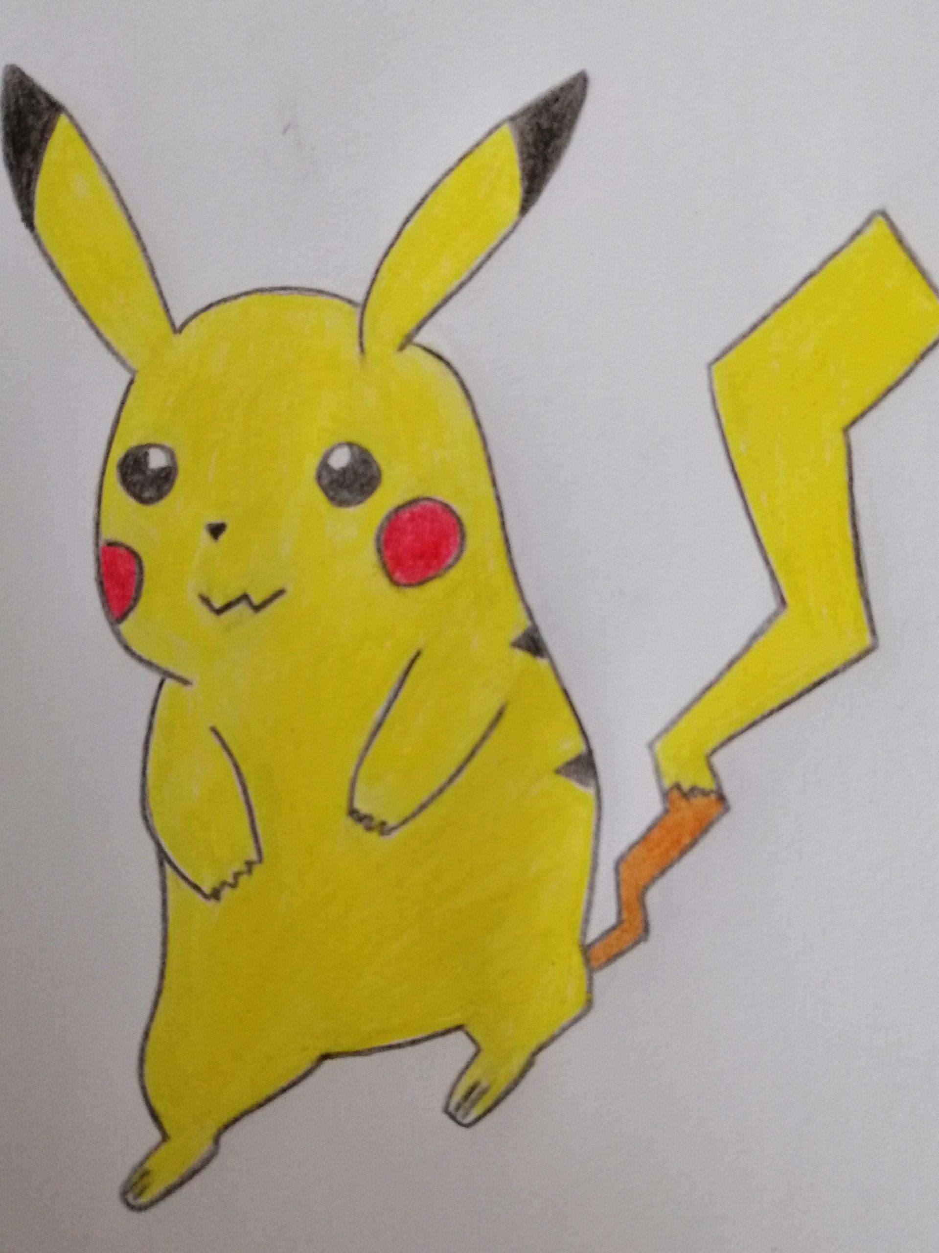 Comment Dessiner Pikachu - Dessindigo avec Dessin De Pikachu Facile