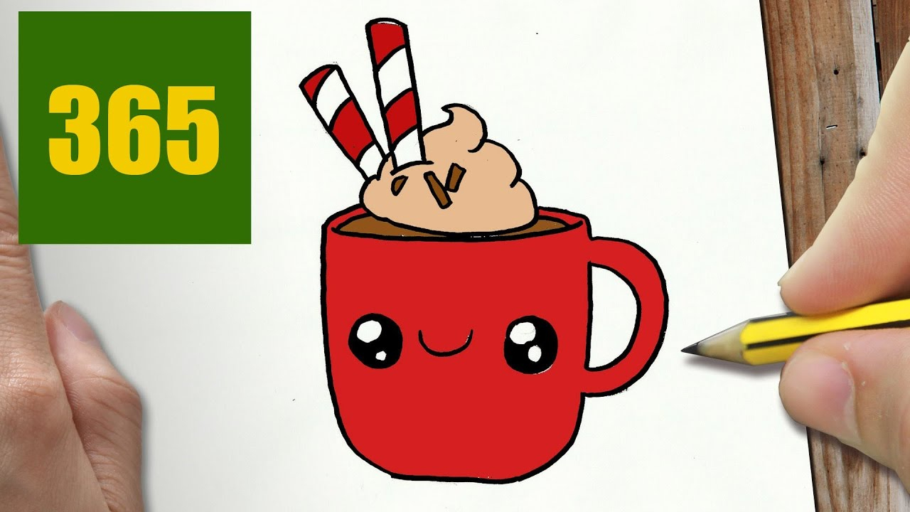 Comment Dessiner Tasse De Chocolat Kawaii Étape Par Étape – Dessins Kawaii  Facile encequiconcerne Tablette Chocolat Dessin